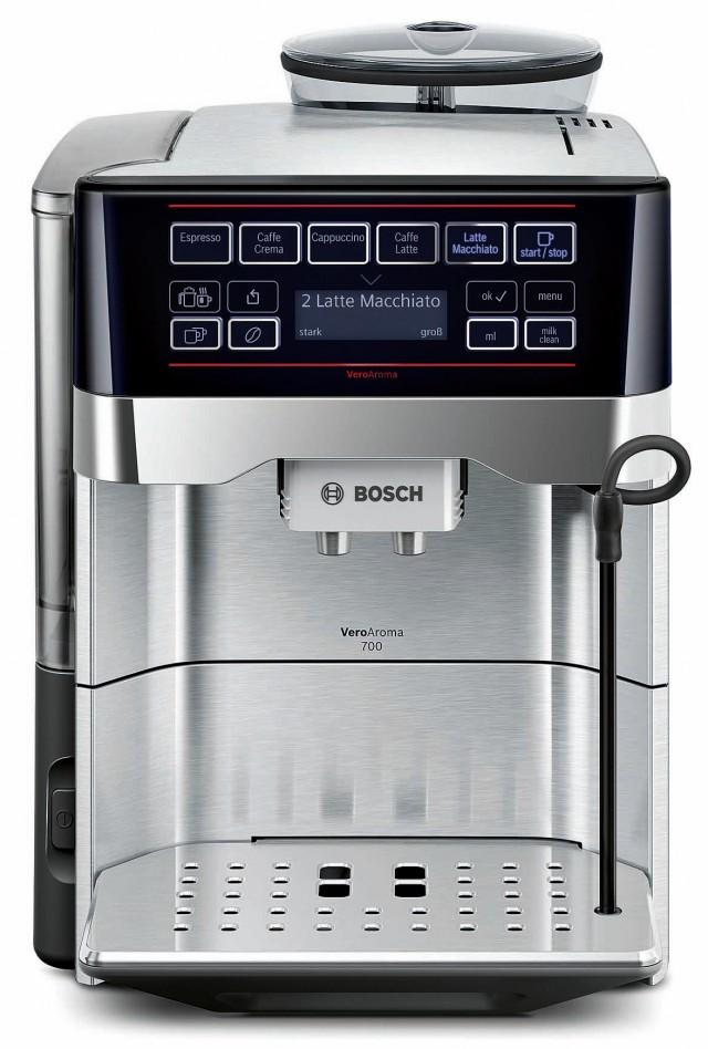 Bosch Kaffeevollautomat VeroAroma mit One Touch-Bedienung.
