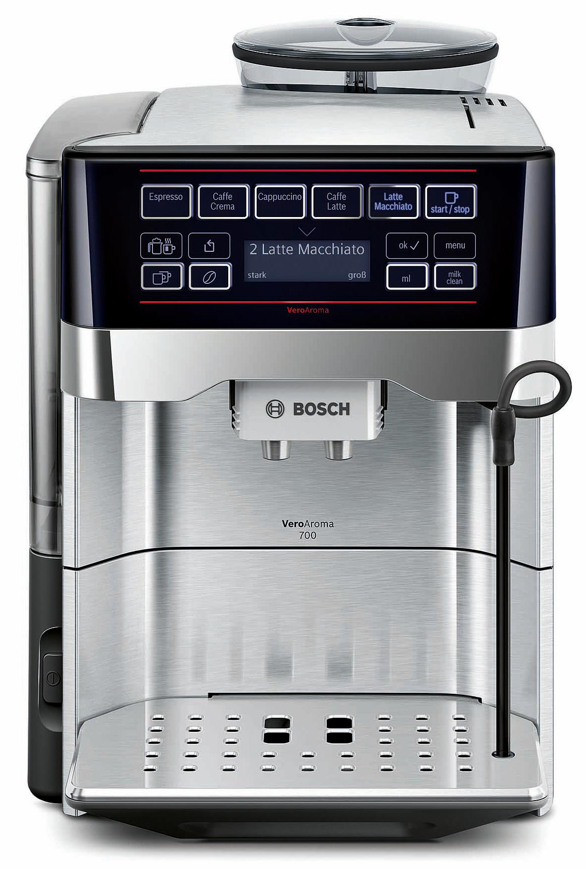 bosch kaffeevollautomat veroaroma 2 modellvarianten one touch bedienung keramik mahlwerk. Black Bedroom Furniture Sets. Home Design Ideas