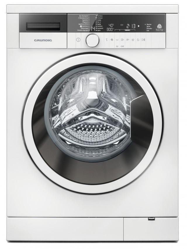 Grundig Waschmaschine GWN 48430 mit 8 kg Fassungsvermögen.