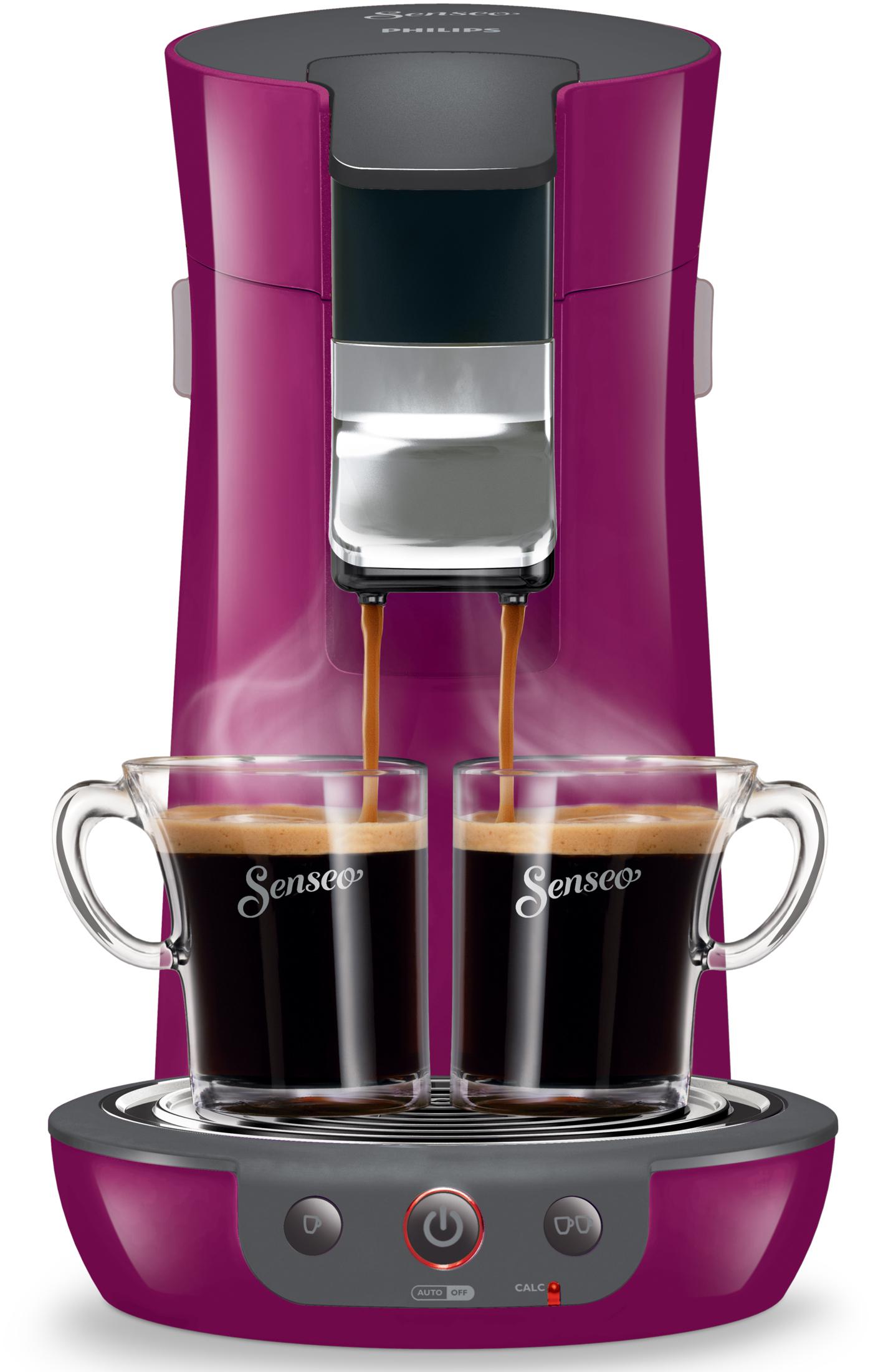 philips kaffeemaschine senseo viva caf pad system bunte farben. Black Bedroom Furniture Sets. Home Design Ideas
