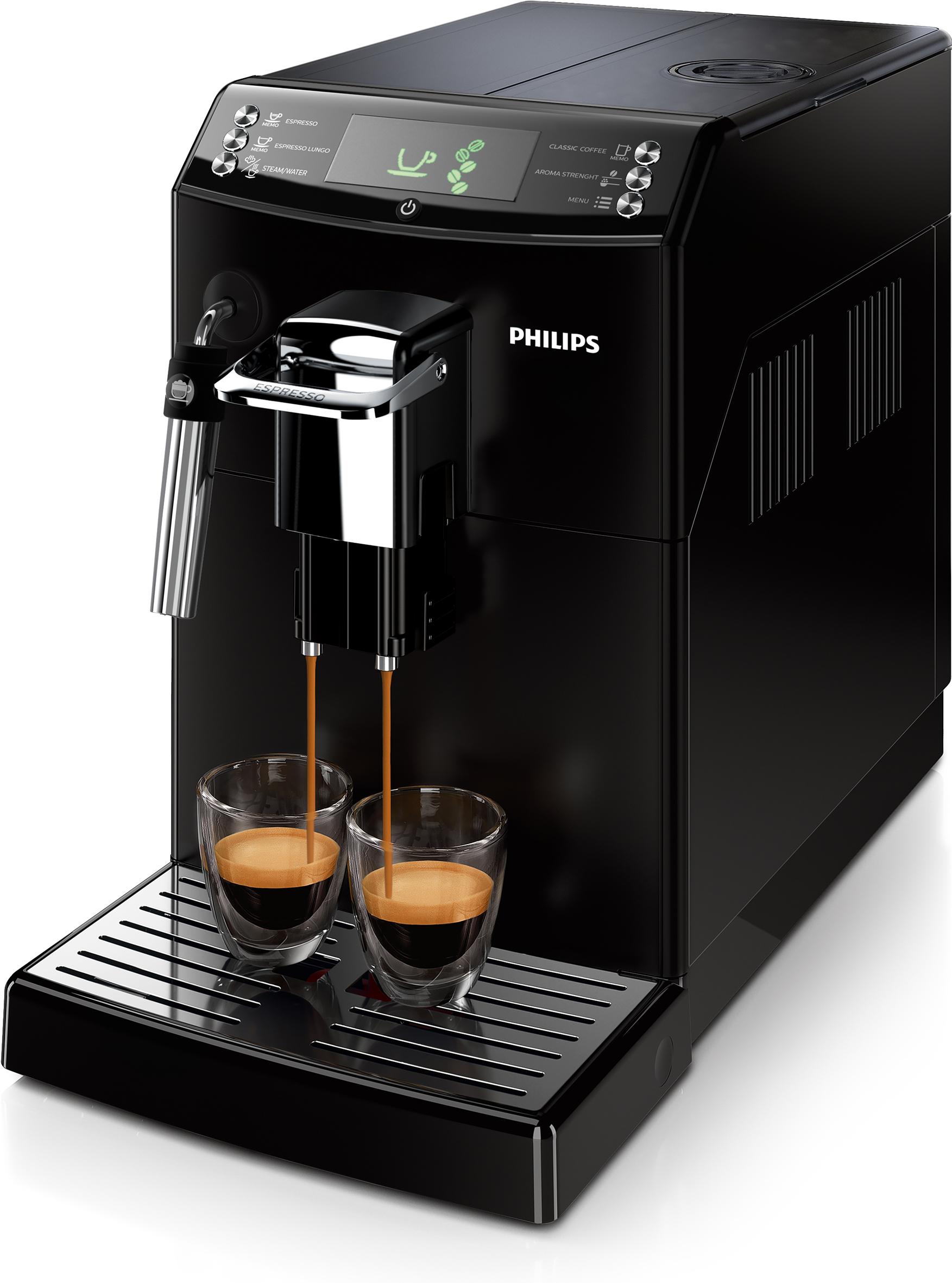 philips kaffeemaschine serie 4000 hd8841 01 mit panarello. Black Bedroom Furniture Sets. Home Design Ideas