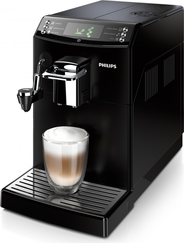 Philips Kaffeemaschine Serie 4000 HD8844/01 mit Cappuccinatore.