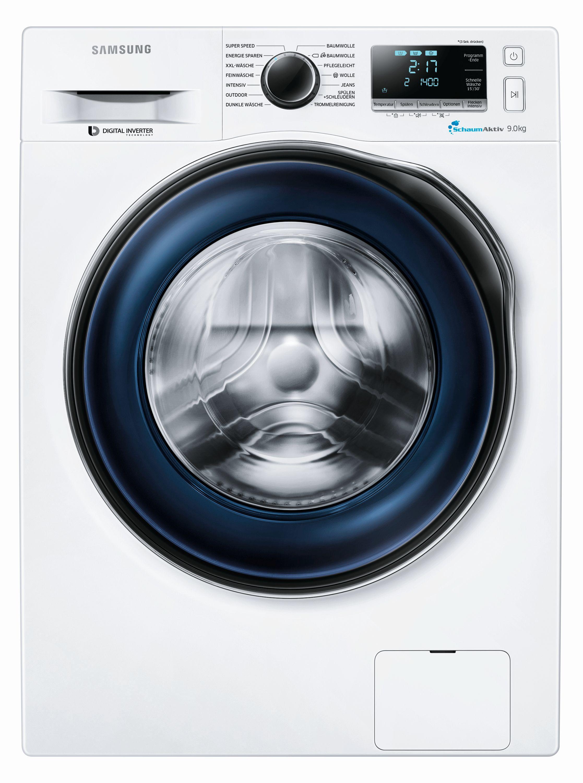 samsung waschmaschine ww90j64 9 kg fassungsverm gen. Black Bedroom Furniture Sets. Home Design Ideas