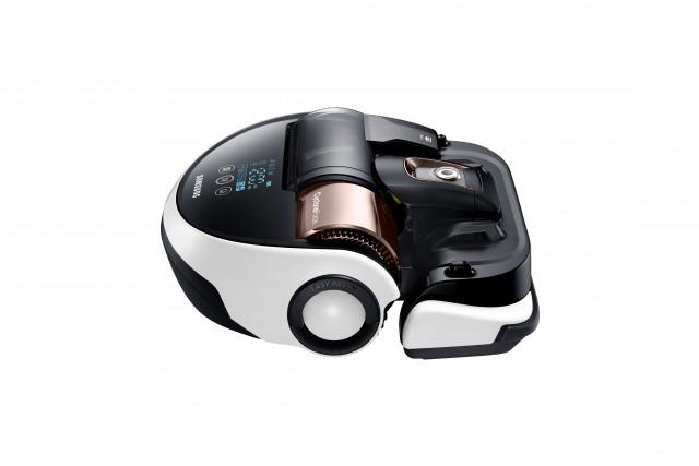 Samsung: Starke Saugleistung des VR9000H PowerBot