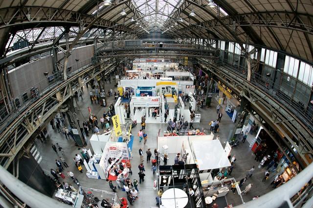 Das Bild gibt einen Vorgeschmack auf das Sonepar-Partnertreff in Bochum. Der Schauplatz vor Ort: die Jahrhunderthalle.