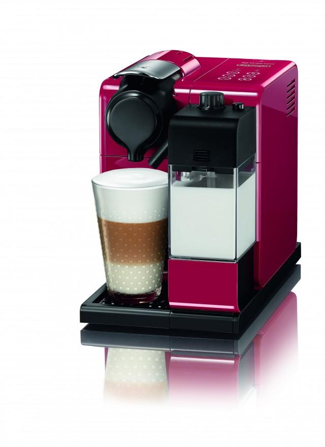 Die De'Longhi Nespresso-System Lattissima Touch mit Latte Macchiato