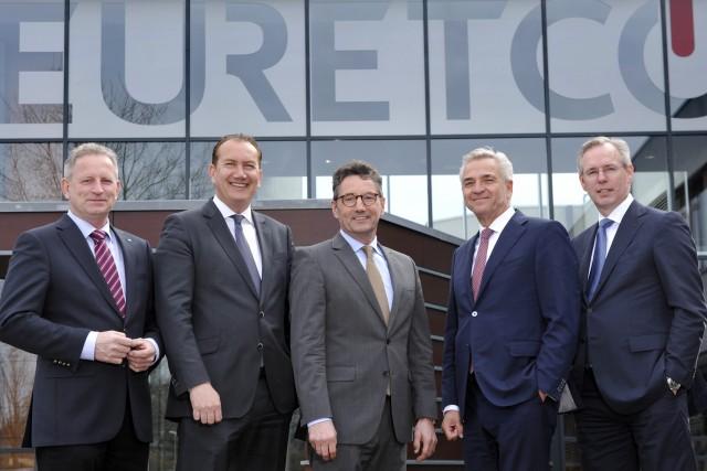 EK/Servicegroup und Euretco Vorstände