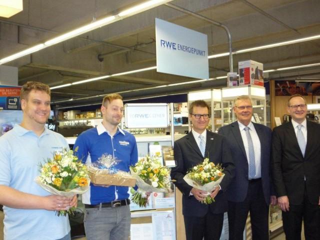 Euronics XXL: Einweihung RWE Energiepunkt