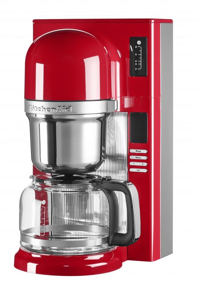 KitchenAid Filterkaffeemaschine in Empire-Rot