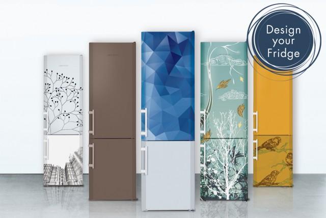Bei der Liebherr-Gewinn-Aktion können Sie Ihren ganz individuellen Kühlschrank gestalten. Erlaubt ist, was Ihnen gefällt!
