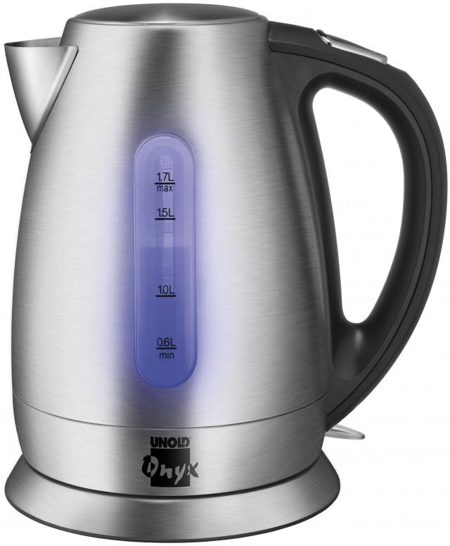 Der Unold Blitzkocher Onyx mit Wasserstandsanzeige