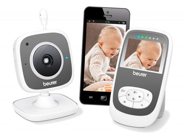 Beurer Babyphone BY 99 Dual mit Elterneinheit.