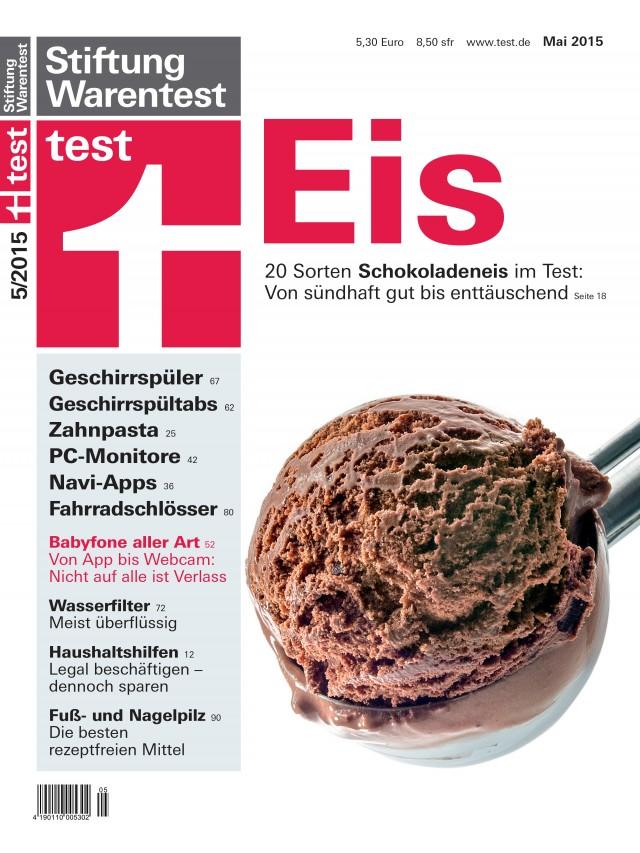 """Geschirrspüler im """"test"""" von Stiftung Warentest"""
