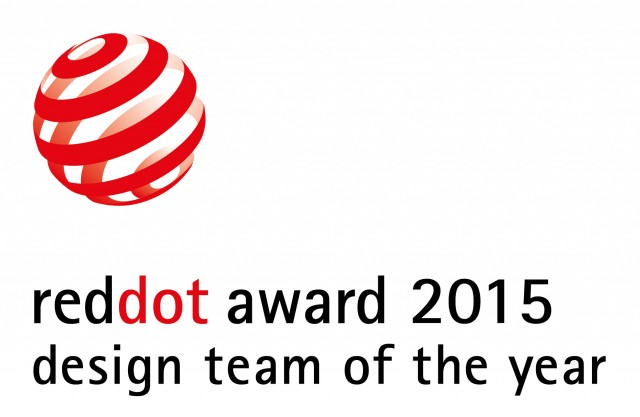 Red Dot Design Team of the Year 2015