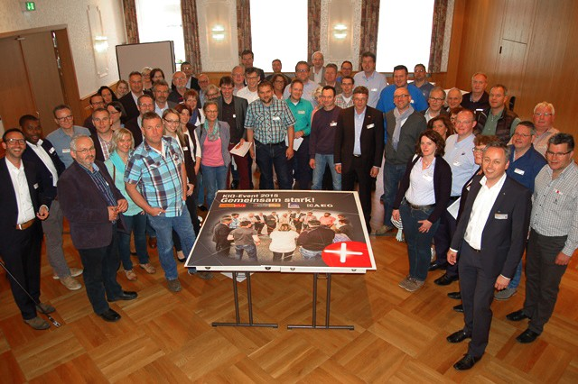 Gemeinsam stark: Die Comfort-Partner der EK/servicegroup in Rothenburg ob der Tauber.
