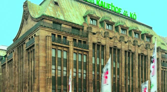 Galeria Kaufhof an der Königsallee in Düsseldorf