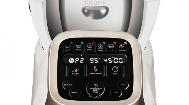 Handhabung, Betrieb, Zubehör, Material und Sicherheit: Alles top bei der Küchenmaschine Prep & Cook von Krups.