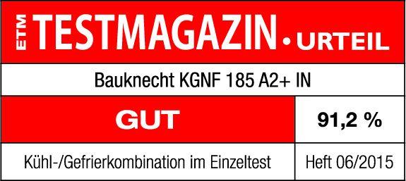 Bauknecht ETM Testmagazin