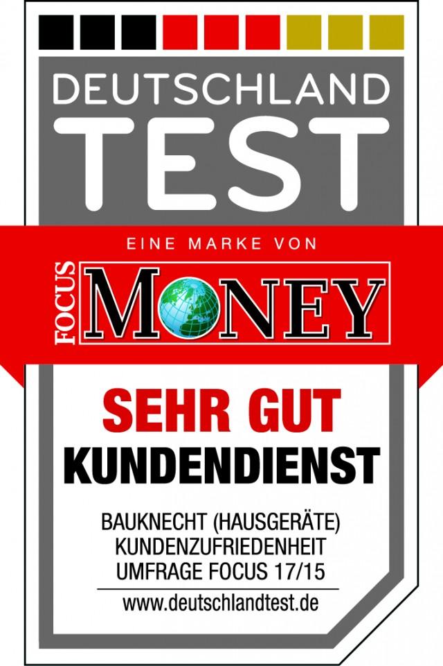 Logo Kundenienst Focus Money: Bauknecht