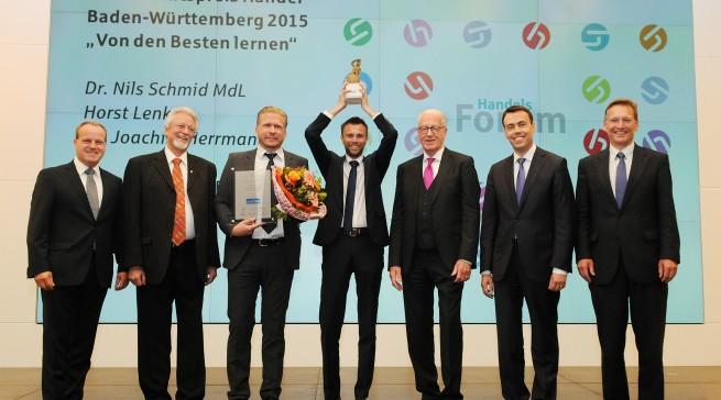 Der 3. Preis ging an Euronics XXL in Tettnang
