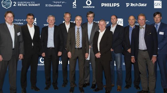 Referenten Gruppenfoto TCG Retail Summit