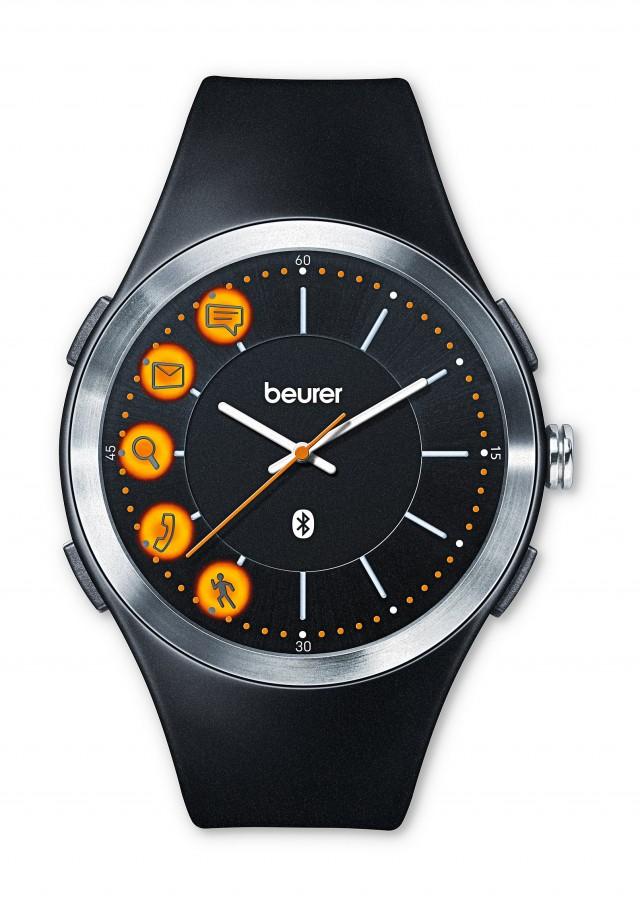 Beurer Aktivitätsuhr AW 85 mit BluetoothSmart Technologie.
