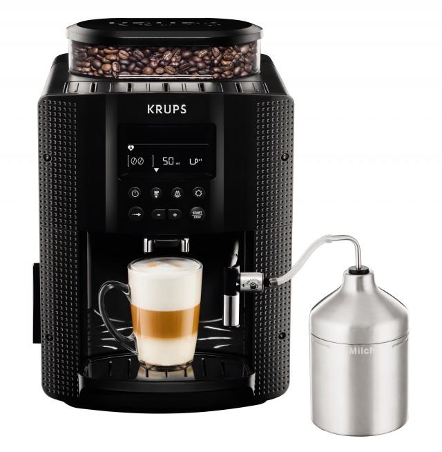 Krups Espresso-Kaffeevollautomat EA8160 mit Auto-Cappuccino