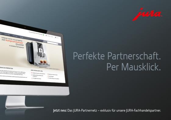 Mehr Service, besserer Überblick: Das neue Jura Partnernetz.