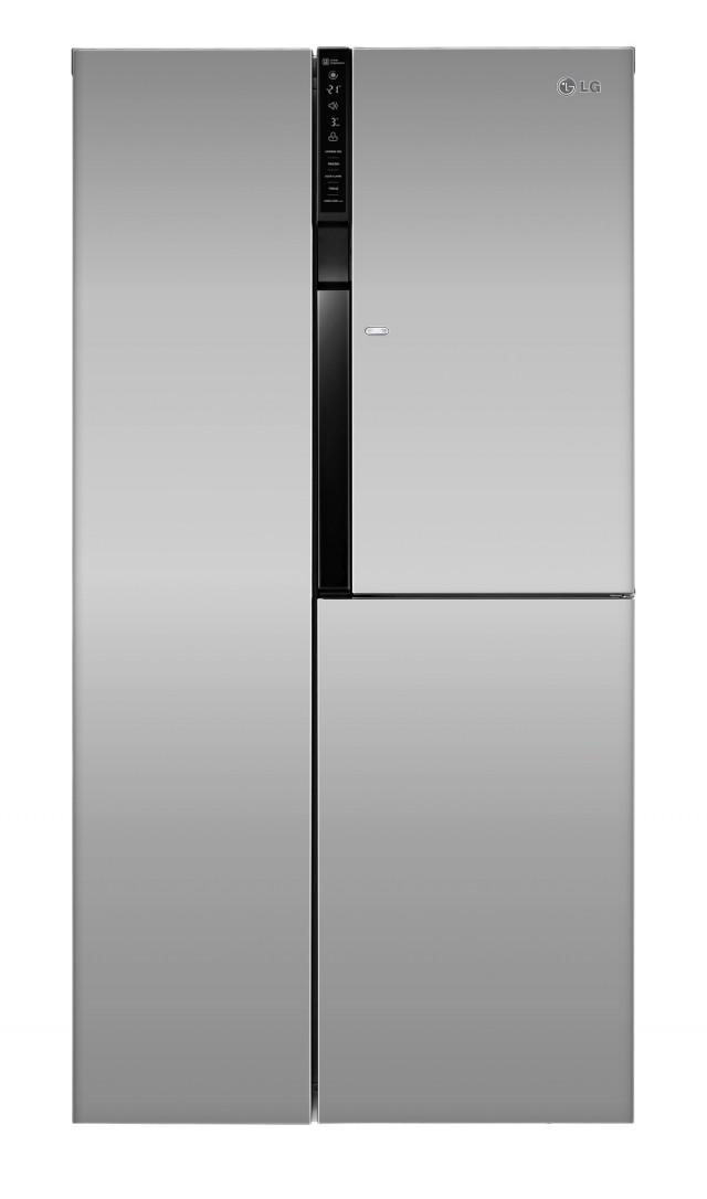 LG Kühlschrank GS 9366 PZQZM mit Door-in-Door.