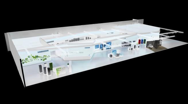 Größer und mit komplett neuer Geräte-Generation präsentiert sich Liebherr in Berlin.