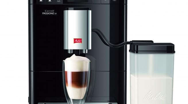 melitta kaffeevollautomat caffeo passione ot. Black Bedroom Furniture Sets. Home Design Ideas
