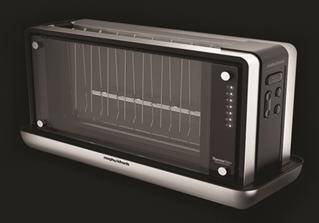 Toaster mit spannendem Einblick ins Innenleben von Morphy Richards.