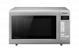Die Panasonic Mikrowelle NN-CT565M in Frontansicht