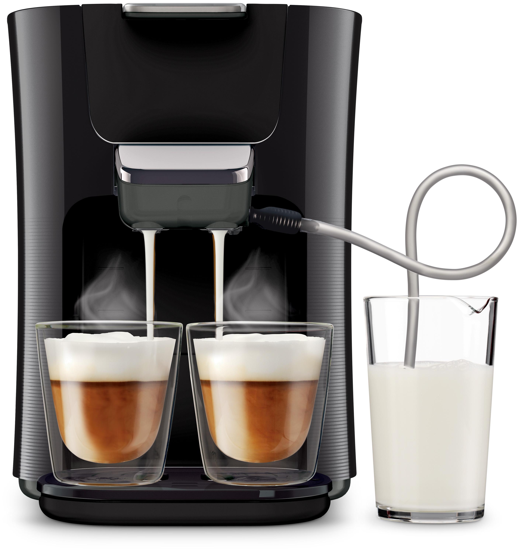 philips kaffeemaschine senseo latte duo hd7855 50. Black Bedroom Furniture Sets. Home Design Ideas