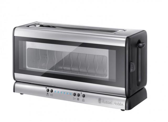 Der Russell Hobbs Toaster Clarity 21310-56 , ein Langschlitz-Toaster