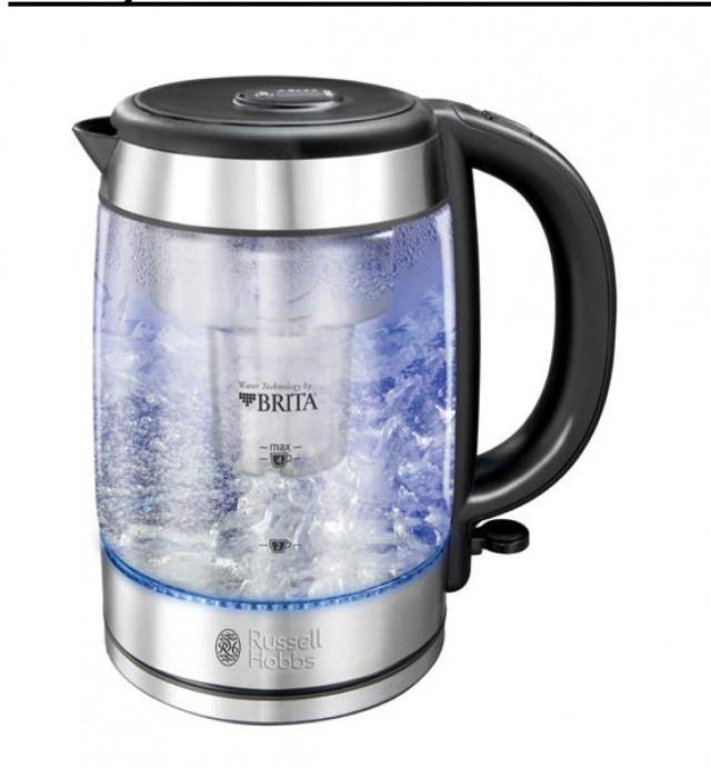 Der Russell Hobbs Wasserkocher Clarity 20760-70 mit Brita-Filter
