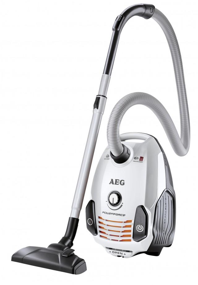Staubsauger PowerForce Allergy&Animal Care APF6160 ist sein Beutelsauger.
