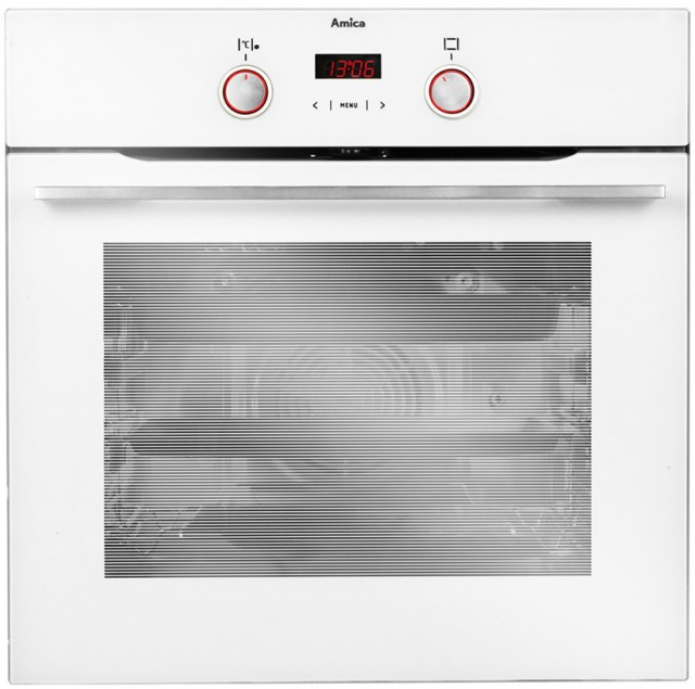 Amica Backofen EB 13578 W New Platinum mit 11 Backfunktionen.