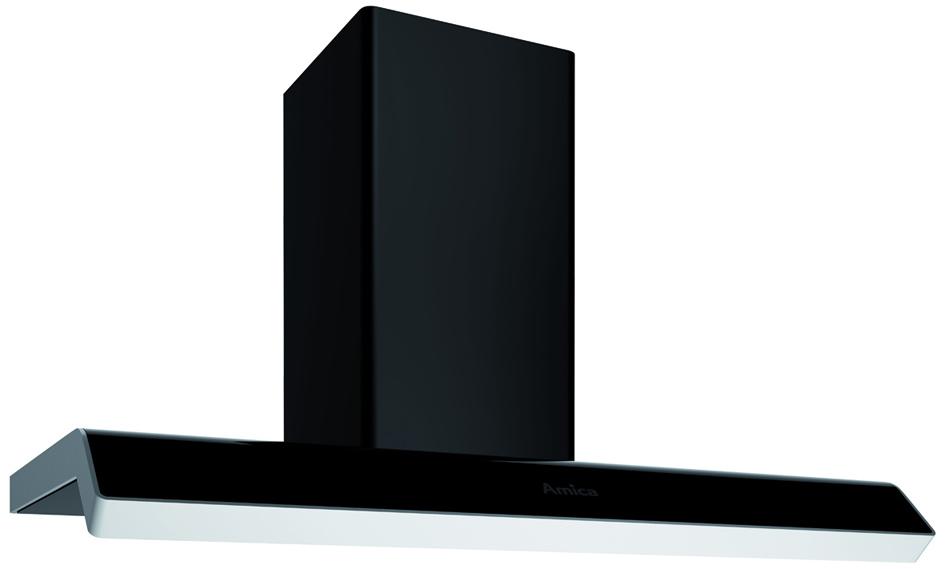 amica dunstabzugshaube in kh 67391 s in 900 bt kaminhaube 90 cm breite. Black Bedroom Furniture Sets. Home Design Ideas
