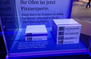 IFA 2015 - Per App oder Scanner zur perfekten Pizza