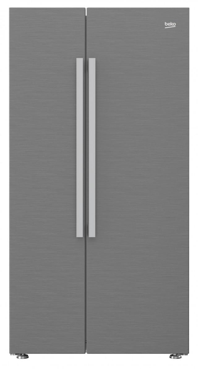 Beko Kühl-Gefrierkombination GN163030X ist ein Side-by-Side Gerät.