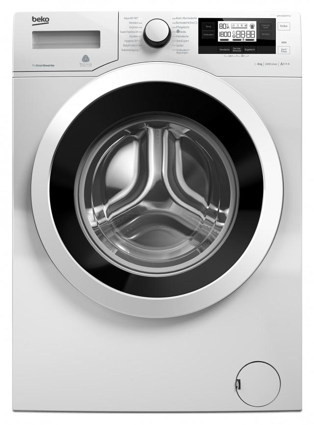 Beko Waschmaschine WMY 81494 PTLE Gerät der Energieeffizienzklasse A+++.