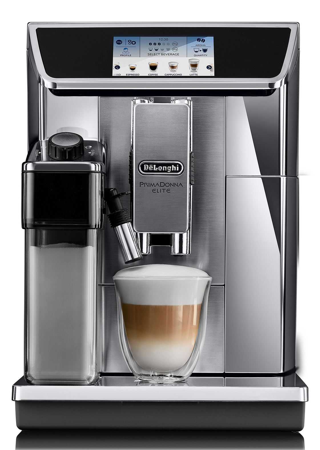 de longhi kaffeemaschine primadonna elite ecam 656 interaktiv app 2 modelle. Black Bedroom Furniture Sets. Home Design Ideas