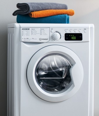 Indesit Waschtrockner MyTime bietet 2 Wash & Dry-Waschgänge.