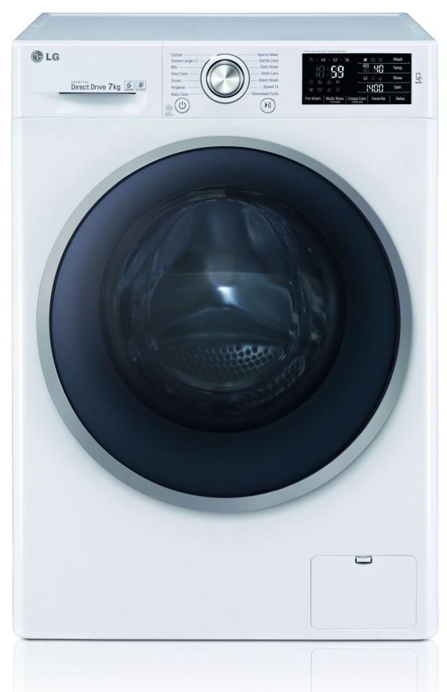 LG Waschmaschine F 12U2 HDN1H mit 45 cm Gerätetiefe.