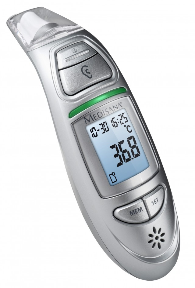 Medisana Themometer TM 750 mit Anschluss an VitaDock.