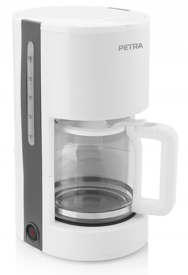 Petra Kaffeeautomat 1,2 L Arctic KM 51.00 mit herausnehmbarem Filter.