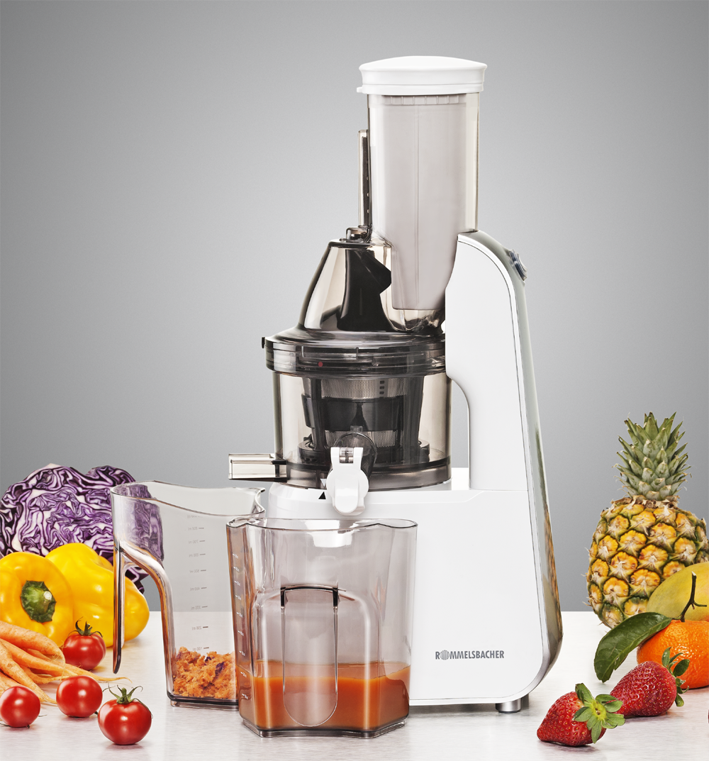 Slow Juicer Reviews 2015 : Rommelsbacher Slow Juicer ES 240 - Schonend entsaften
