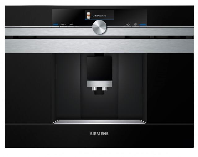 Siemens Kaffeevollautomat iQ700 CT636LES6 ist ein inbau-Kaffeevollautomat.