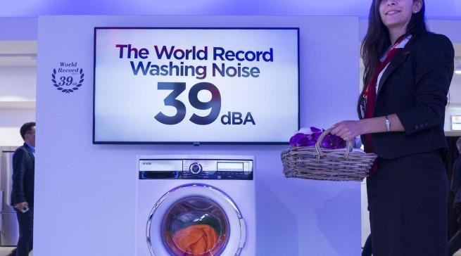 Vestel bietet die nach eigenen Angaben leiseste Waschmaschine der Welt.